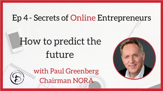 How to predict the future – Paul Greenberg – co-founder Deals Direct.com.au, Chairman NORA
